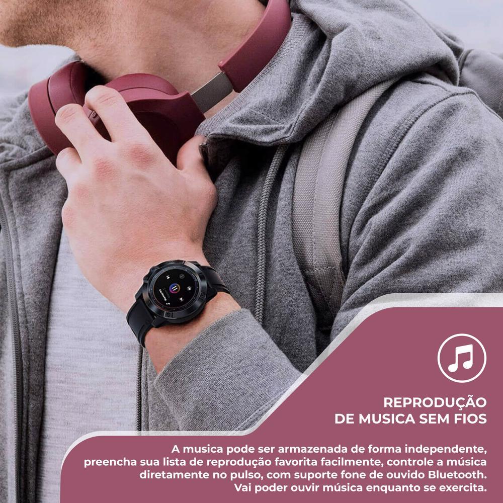 Feito para manter a sua vida activa, este Smartwatch alia a elegância e o conforto com múltiplas funções. Esqueça o tempo em que o relógio indicava apenas a hora